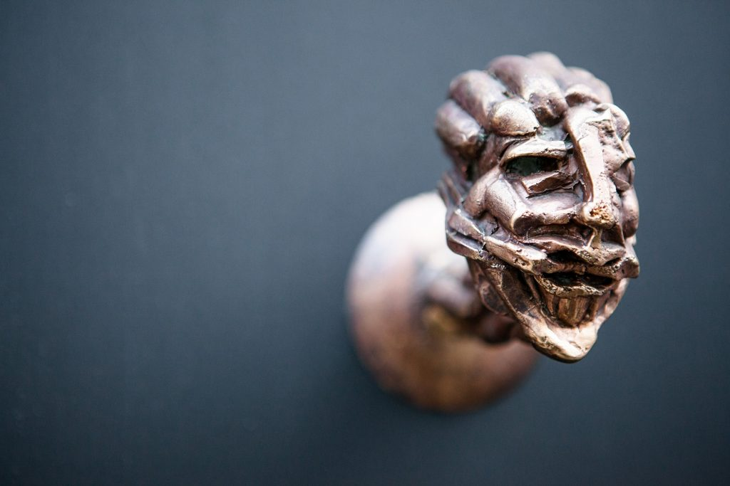 an old doorhandle