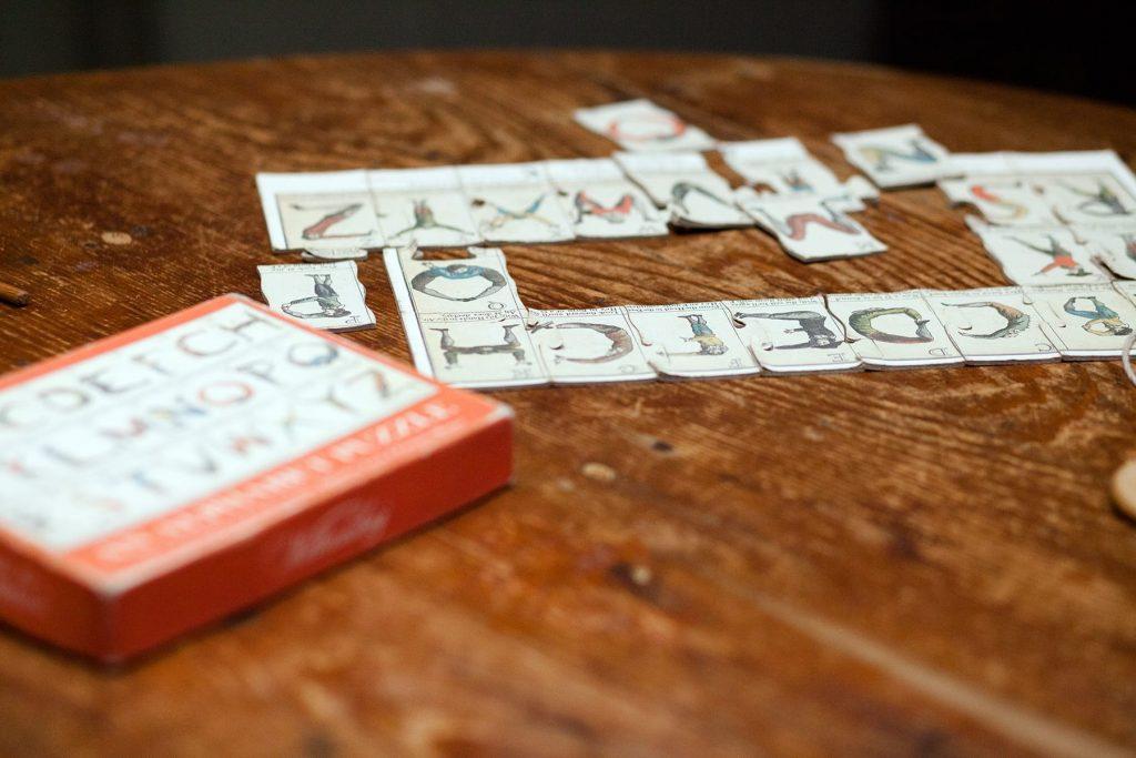 an alphabet game