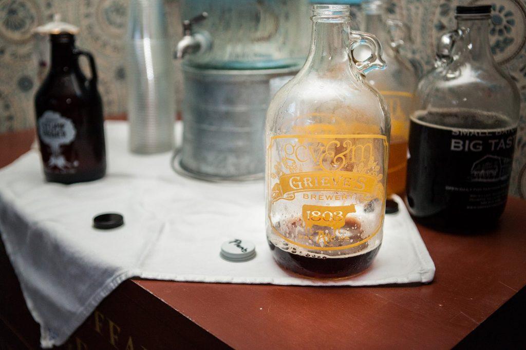 Genesee country village museum growler of home-brewed beer