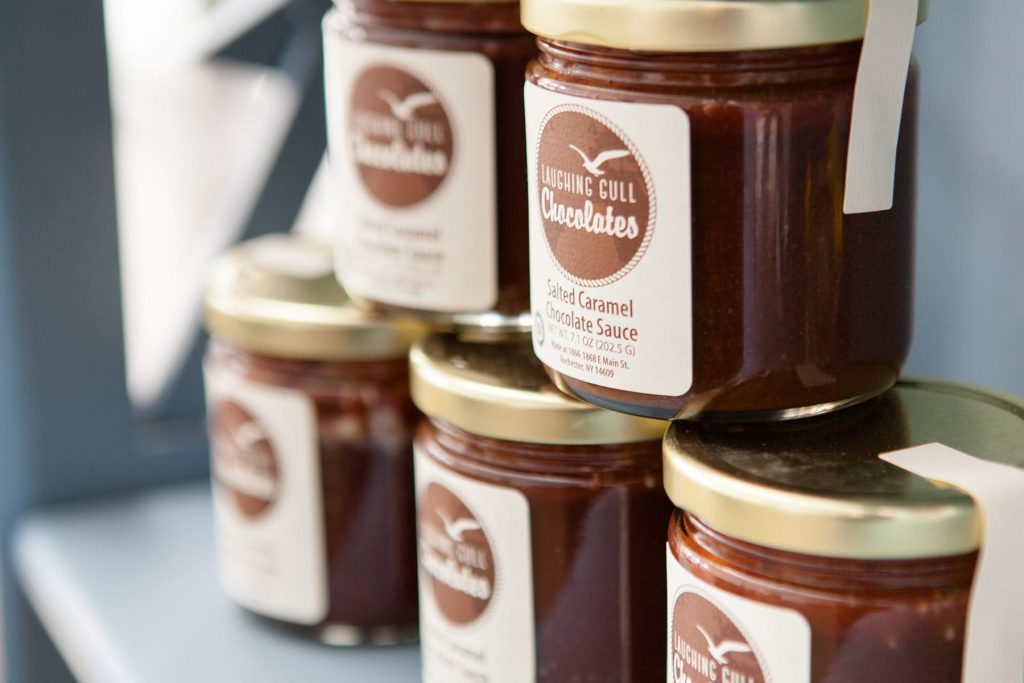 chocolate in a jar available in Rochester