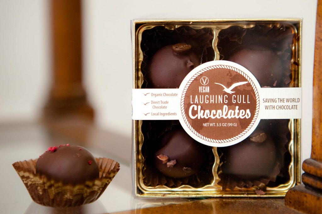 laughing gull chocolate shop in Rochester offers the perfect gift for Valentines Day or any holiday