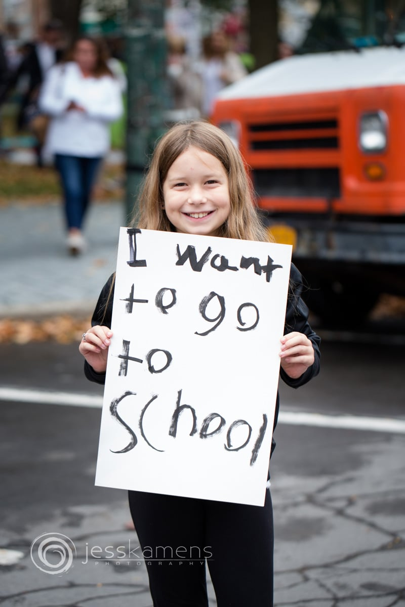 i want to go to school says a homeschooler