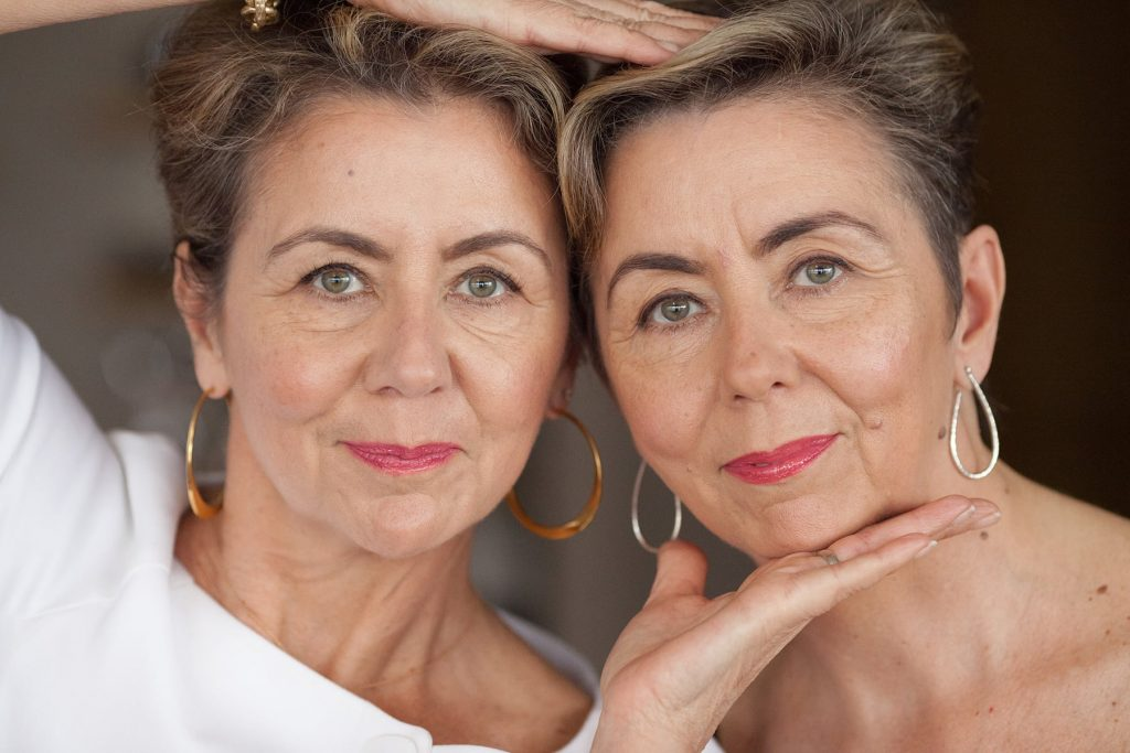 twin sisters in Rochester Deborah and Deanna own Brow Diva, Brow Biz and Tim Makeup